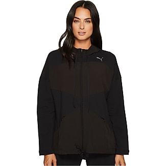 puma jackets womens. puma transition full zip jacket (puma black) womens coat jackets