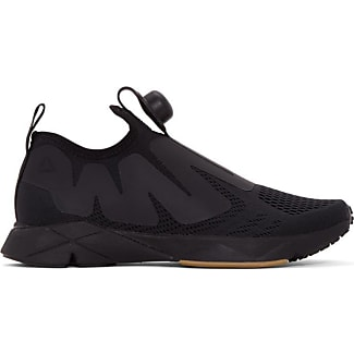 reebok black shoes. reebok black pump supreme engine sneakers shoes