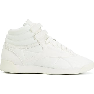 reebok high tops. reebok lace up hi-top sneakers - white high tops