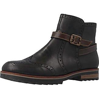 REMONTE R9373 Damen Kurzschaft Stiefel Blau Schuhe in Ubergrossen