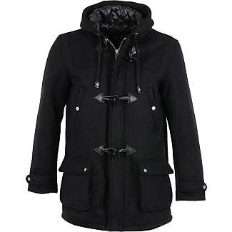 Schott NYC Duffle-coat Warren Noir Schott