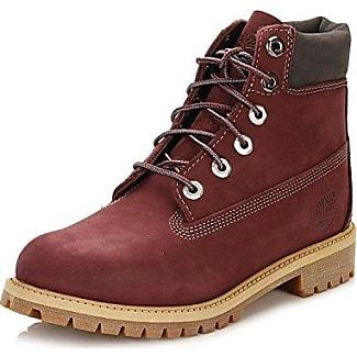 Timberland Boots - Timberland Youth 6 In Premium WP Boot - Dark Port Waterbuck