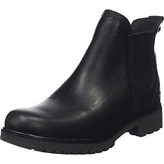 Timberland Damen Lyonsdale_Lyonsdale_Lyonsdale Chelsea Boots, Schwarz (Black Smooth), 36 EU