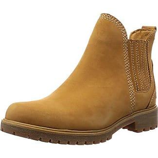 Timberland Damen Lyonsdale_Lyonsdale_Lyonsdale Chelsea Boots, Braun (Wheat Nubuck), 37 EU