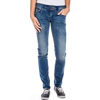 Womens 16-5414 Britttz Straight 3210 Royal Blue Wash Jeans Timezone