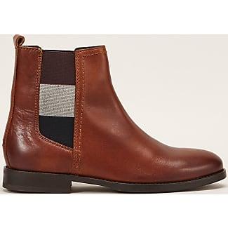 Boots cuir Parson, Cognac