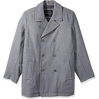 Mens Light Grey Pea Coat - All The Best Coat In 2017