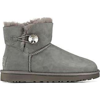 ugg bailey bling swarovski button boots grey