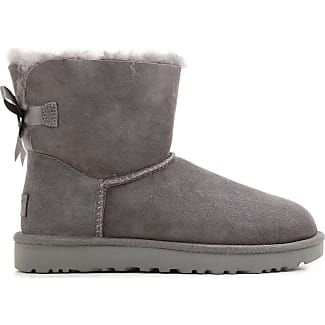 Boots for Women, Booties On Sale, Grey, Suede leather, 2017, USA 6 UK 4 5 EU 37 JAPAN 230 UGG