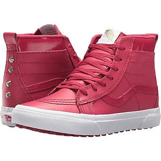 red vans shoes for girls. vans kids sk8-hi mte (little kid/big kid) ((mte red shoes for girls l