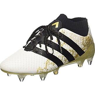 As Adidas De Soccer Masculin 16.1 De Cuir Fg - Noir - 45 1/3 Ue aRKLaen