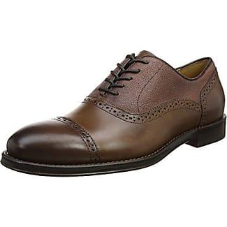 Aldo Galoenia, Zapatos de Cordones Oxford Para Hombre, Marrón (Cognac), 43 EU