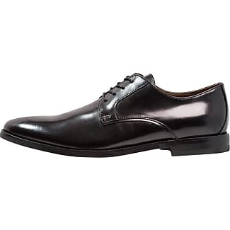Rancho, Zapatos de Cordones Oxford para Hombre, Negro (Black Black), 43 EU Dune London