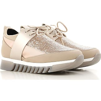 Sneakers for Women On Sale, Bronze Gold, Leather, 2017, 3.5 4.5 5.5 Alexander Smith