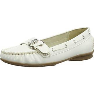 Andrea Conti 0873010 - Mocasines para mujer, color blanco, talla 39
