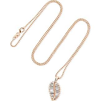 Anita Ko Rose-Cut Diamond Pendant Necklace in 18K Rose Gold, 0.77ct