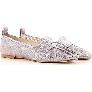Ballet Flats Ballerina Shoes for Women On Sale, Silver, Craclè, 2017, 2.5 3.5 4.5 5.5 8.5 Anna Baiguera