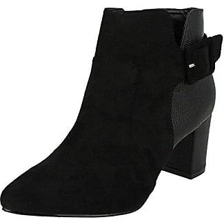 Anne Michelle , Damen Chelsea Boots , rosa - magenta - Größe: 36.5