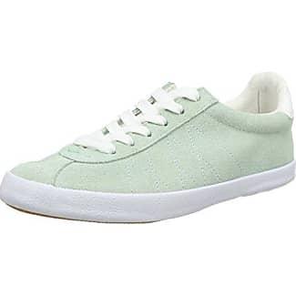 Une Autre Paire De Chaussures Tessa E1 - Zapatillas Mujer, Blanco (blanc / Argent 565), 36