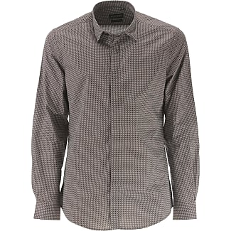 Shirt for Men On Sale, dark Loden Green, Cotton, 2017, 40 inches ( 100cm ) Antony Morato
