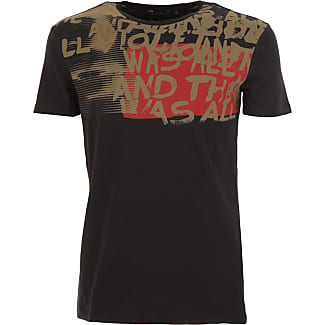Camiseta de Hombre, Negro, Algodon, 2017, L M S XL XXL Antony Morato