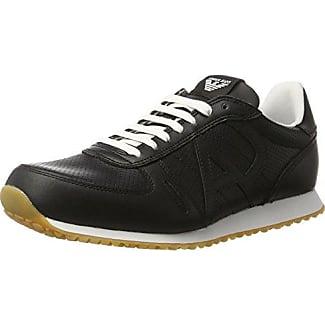 Armani Jeans935534CC505 - Zapatillas Hombre, Color Negro, Talla 44