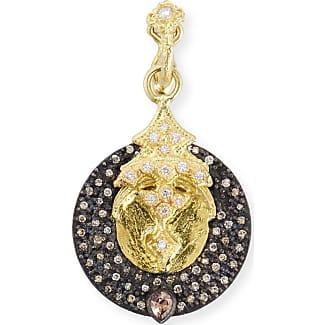 Armenta New World Round Crivelli Shield Enhancer with Diamonds L2EeqJt