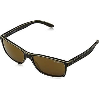 Arnette Herren Sonnenbrille 0AN4185 23616Q, Gold (Matte Stone Washed Copper/Redmultilayer), 58