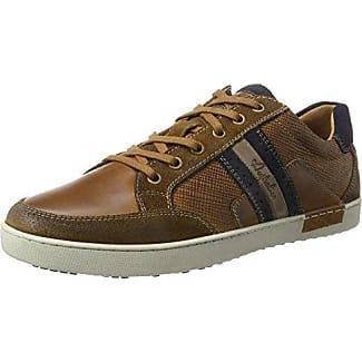 Australian Lombardo Leather - Zapatillas de Cuero para Hombre, Color Gris, Talla 44