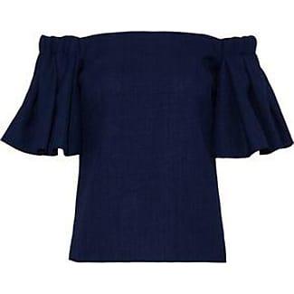 How Much Sale Online Cheap Sale Amazon Badgley Mischka Woman Off-the-shoulder Ruffled Woven Top Magenta Size XS Badgley Mischka KYgQbOru