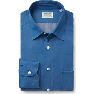 Casual shirt St Tropez Kent collar blue Bagutta Manchester Great Sale IEssU