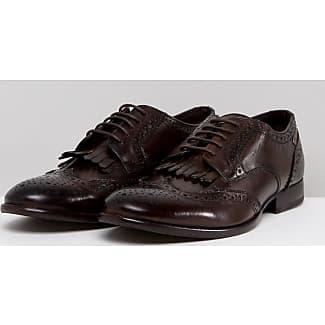 Base LondonConiston - Zapatos con Cordones Hombre, Azul (Bleu (Washed Blue)), 43