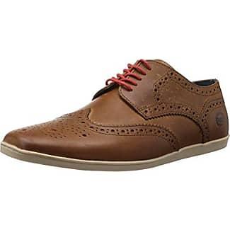 Woburn Pi06 - Zapatos de cuero para hombre, color negro, talla 46 Base London