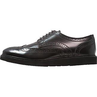 Measure, Chaussures de ville homme - Noir (Hi Shine Black), 46 EU (12 UK)Base London