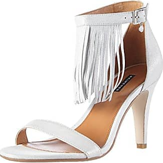 De Color Plata Mujer Tacón 03 Zapatos 703367 Platagris Belmondo qwx7vtHFW