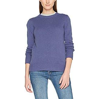 L/s, Sweat-Shirt Femme, Bleu (Blue 713), LargeBenetton