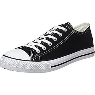 Beppi Canvas Shoe, Zapatillas de Deporte para Hombre, Negro (Preto Preto), 42 EU