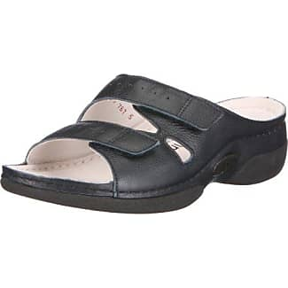 Dominique 03516-937 - Pantuflas de fieltro para mujer, color gris, talla 38 2/3 Berkemann