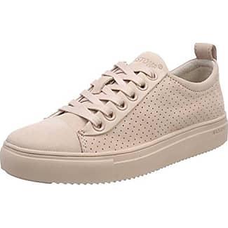 Blackstone PERFORATED HIGH FL62, Sneaker donna, Beige (Beige (Taupe)), 36