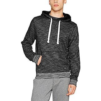 Sweatshit À Capuche Sportswear - Manches Longues Homme - Noir - MediumBlend V614Za