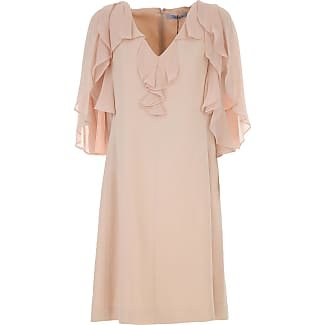 Dress for Women, Evening Cocktail Party On Sale, Powder Pink, polyester, 2017, 10 12 Blugirl