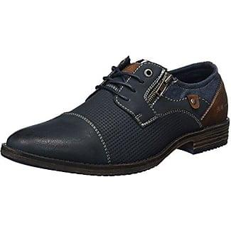 2713803, Scarpe Stringate Uomo, Blu (Blu (Navy)), 44 EU BM Footwear