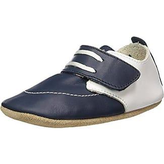 Bobux 460674 - Zapatos Para Gatear de cuero bebé - unisex, color negro, talla 17