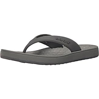 Bogs Men's Dylan Flip-Flop, Gray/Multi, 7 M US