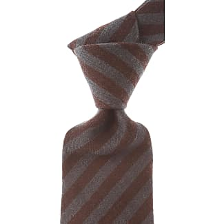 Ties On Sale, Anthracite Melange, Wool, 2017, one size Borrelli Napoli