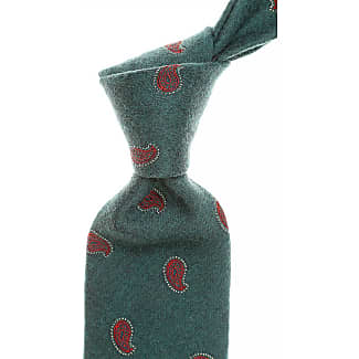 Ties On Sale, Grey Melange, Silk, 2017, one size Borrelli Napoli