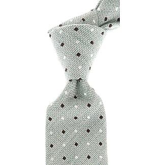 Ties On Sale, Green Melange, Silk, 2017, one size Borrelli Napoli