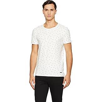 Toughts 2 10166601, Camiseta para Hombre, Gris (Light/Pastel Grey), X-Large HUGO BOSS