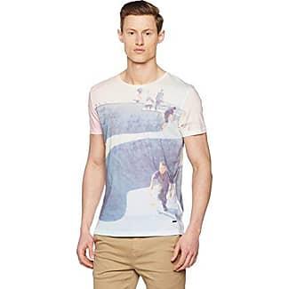 Boss Orange 10139980 01, Camiseta Hombre, Blanco (White), Large HUGO BOSS