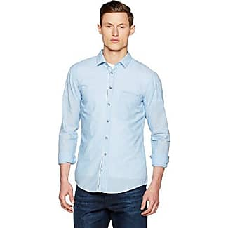 Boss Orange 10169252 01, Camisa Hombre, Azul (Open Blue), Large HUGO BOSS